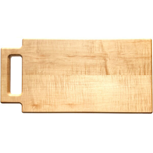 Unique cutting board. Maple in hardwood maple.