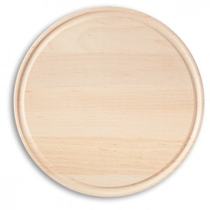 Maple or Cherry round cutting board