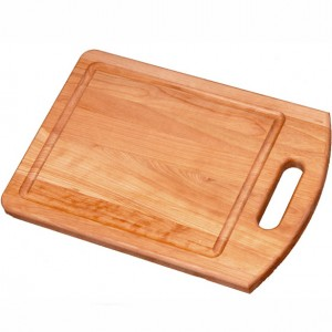 wooden kitchen cutting board made of maple