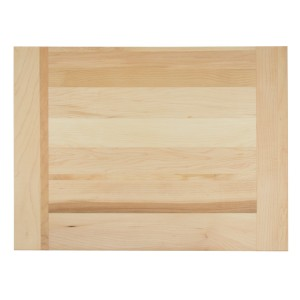 This wooden pastry board is made in Canada from hardwood maple.