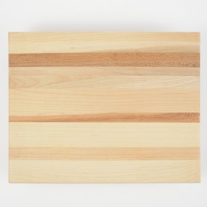 Simple cutting board made in Canada from hardwood maple