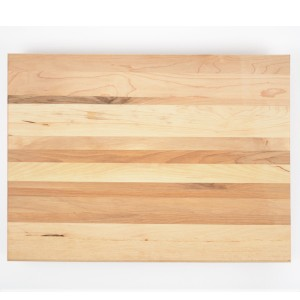 Vegetable Cutting Board. Made in Canada from hardwood maple.