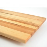 Vegetable Cutting Board with rounded edges. Made in Canada from hardwood maple.