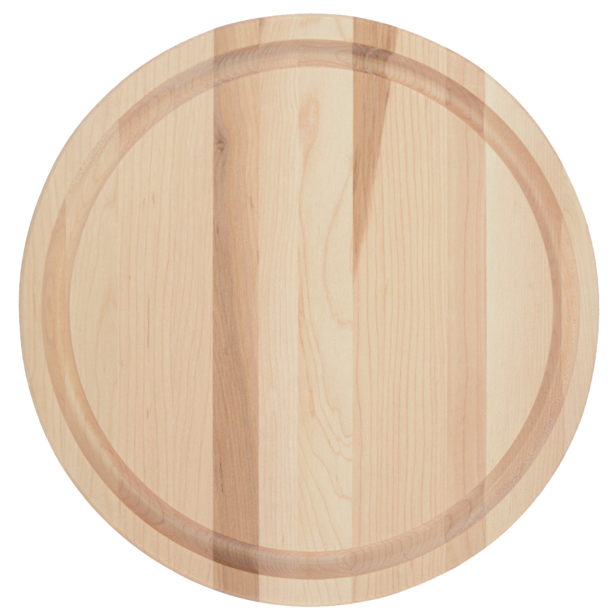 Small Round Cutting Board With Juice Groove Canadian
