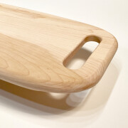 Charcuterie Serving Tray for Resin Art with handles. Also has very smooth edges.